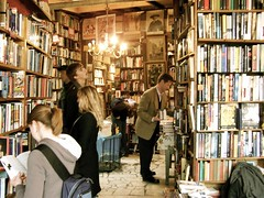 Inside Shakespeare & Co (benleto) Tags: old paris france english history shop portraits reading book words store stuffed library famous travellers shakespeare books bookshelf best full shelf company study busy chandelier writers guest stories bookshop bookshelves shelves stay piles crammed stacks authors novels corners shakespeareco twisting readers volumes tomes novelists nooks crannies