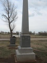 Gov. A.J.Seay tombstone
