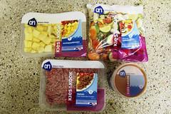 1 2 3 4 steps (marie-ll) Tags: food home kitchen vegetables meat ah 1234 albertheijn tomatosauce maaltijd kieskook