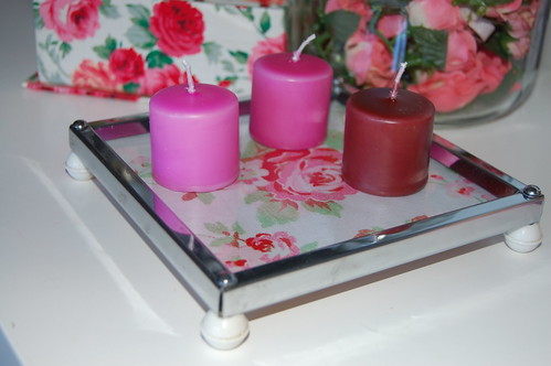 Candle tray - redone