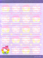 HK UK (lightning_lover) Tags: hellokitty sanrio memo kawaii stationery notepaper