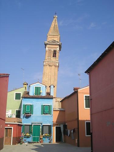 burano campanile - thanks teleluna