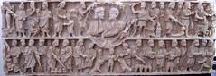 Pio-Christian Museum sarcophagus relief (kilojulietsierra) Tags: vatican rome sarcophagus