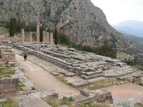 Apollontemplet i Delfi