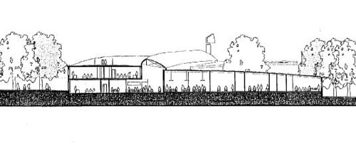 Redland Green School sketch