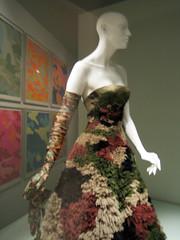 Camouflage Dress (Michaela Edwards) Tags: bus plane war camouflage imperialwarmuseum