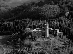Back in the Middle Ages (Love.to.be.fuzzy[in pelo stat virtus]) Tags: bw belvedere middleages medioevo orvieto abbazzia