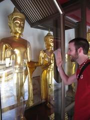 High fivin' Buddha