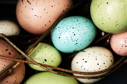 Easter Egg Wreath 2007