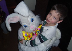 James Meets the Easter Bunny