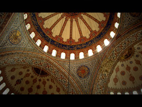 inside of Blue Mosque by Atilla1000 (come back soon!).