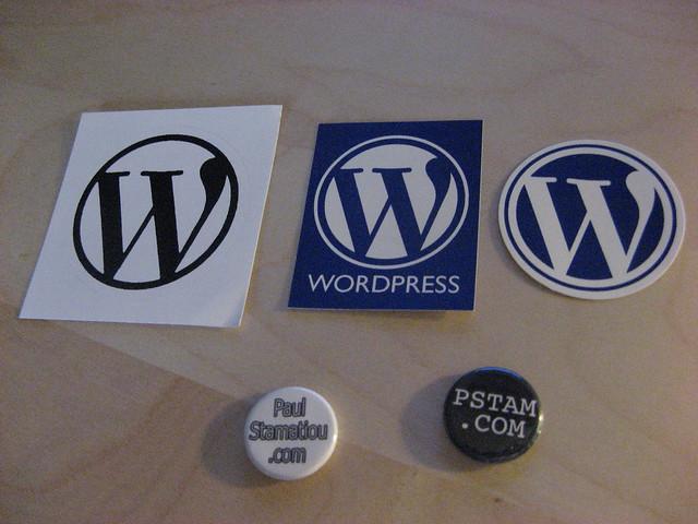 Wordpress Stickers from Stammy