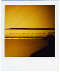 so it goes. (cowe) Tags: film polaroid sx70 rip 600 vonnegut nofilter kurtvonnegut pooteeweet
