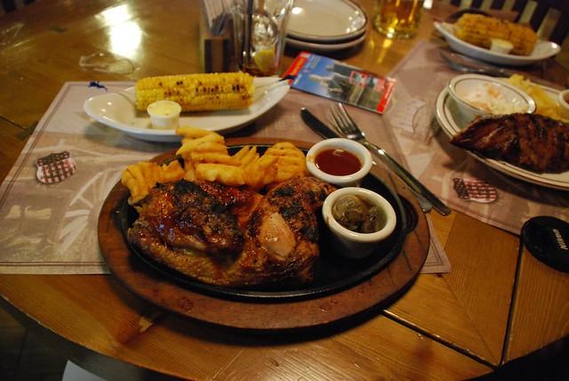 texas BBQ, madrid style