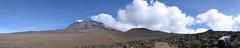 Kilimanjaro - The Saddle (Day 4) (tik_tok) Tags: africa travel cloud mountain kilimanjaro expedition digital canon landscape geotagged tanzania climb desert hiking a520 peak hike powershot mount climbing uhuru saddle marangu 2007 canonpowershot eastafrica kibo
