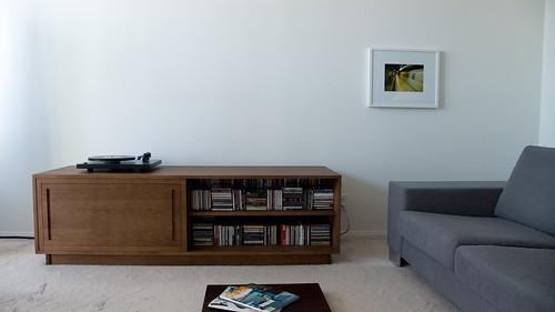 solid oak wood sideboard