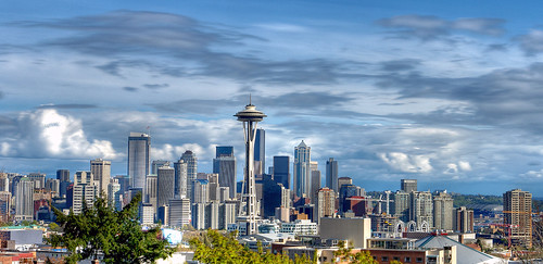 Seattle Cityscape / David Hogan