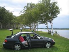 img_2261 (blue_william) Tags: cars roadtrips greenpark toyota pei corolla provincialparks westprince