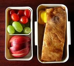 Stromboli lunch