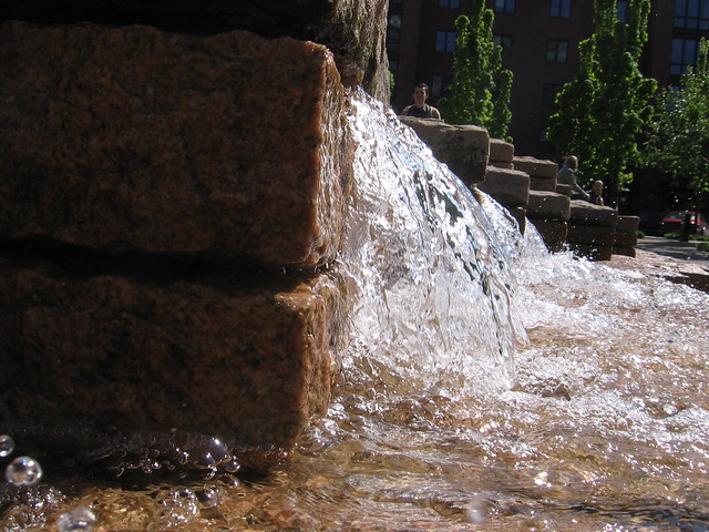 fountain, jamison square
