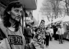 John (rachel sian) Tags: street portrait john homeless reality peterborough towncentre bigissue peterboroughproject