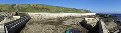 Panorama 2 of North Baths, Wick. (Sandy Beach Cat) Tags: wick caithess northbaths outdoorpool saltwaterswimmingpool swimmingpool