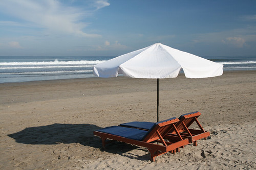 Kuta beach umbrella