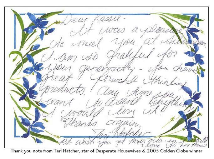 Teri's Letter