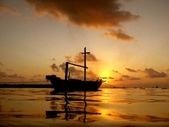 idyllic (ahmed (John)) Tags: blue sunset sea sky people boat shot an maldives peopleschoice flickrsbest anawesomeshot superaplus aplusphoto flickrphotoaward