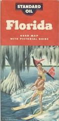 Florida Road Map Cover (Cowtools) Tags: vintage florida map ephemera standardoil e33