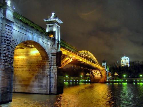 Bridge over Moscow River