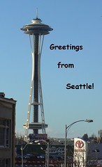 Space Needle greeting