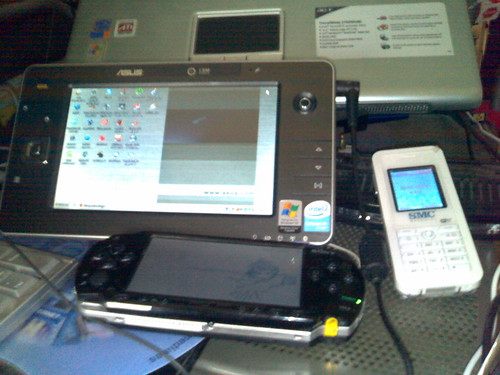 Asus r2h, PSP y telefono smc WSKP100 para Skype