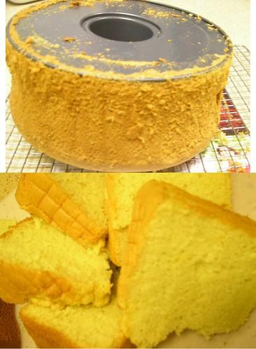 lemon glow chiffon cake