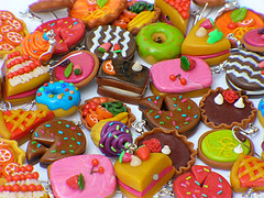 Cakes - Dolci - Ptisseries (jujuly25) Tags: food color cute miniature diy yummy sweet handmade craft jewellery gourmet explore polymerclay fimo homemade colourful artisanal color kawai gourmand goloso abigfave colorphotoaward impressedbeauty