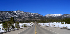 The Road Home (PalmerJZ) Tags: california lake mountains nature snowshoe photography nevada tahoe sierra snowshoeing