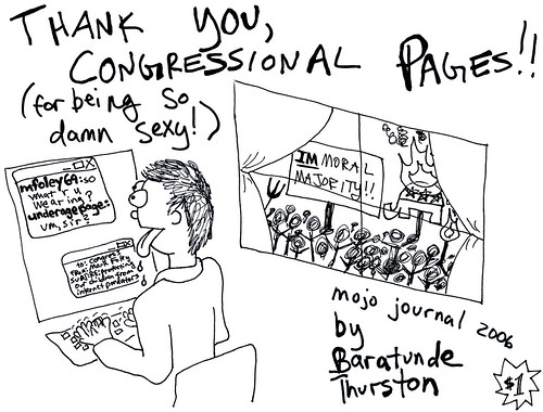 MoJo Journal 2006: Thank You Congressional Pages...