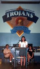 West Whalley Award Speech