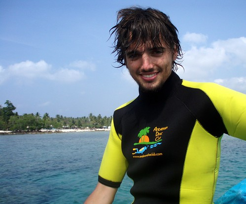 Me with the diving suit =)