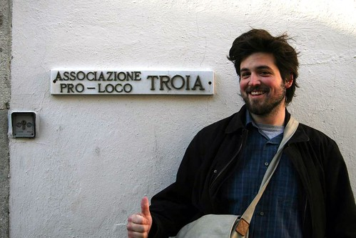 (Troia means slut in Italian.) (And Husbear needs a haircut.)