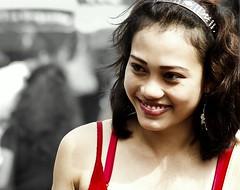 **** BEST SMILE (Suren Rupasinghe) Tags: portrait sexy girl beauty smile singapore highfive amateurs abeauty amateurshighfive invitedphotosonly