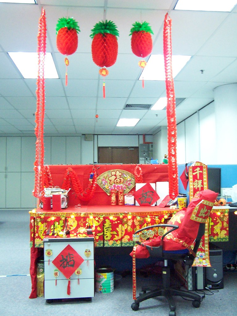 Chinese New Year Decoration Ideas For Office ...