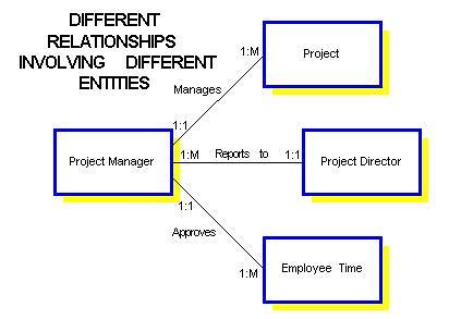 Understanding Relationships in E-R Diagrams