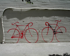 (michale) Tags: sanfrancisco california wall graffiti pipe bikes bicycles jaut kcshow