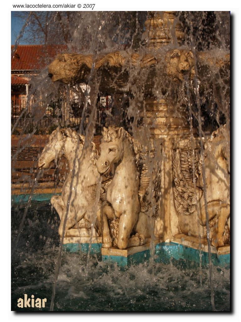 La Fuente de Los Caballos.
