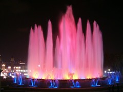 The Magic Fountain of Montjuic - Barcelona - by Samyra Serin