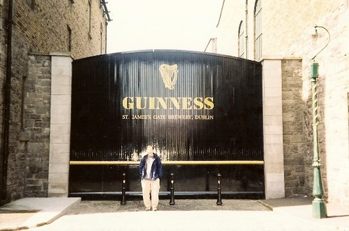 St James Gate Brewery (Guinness) in Dublin, Ireland
