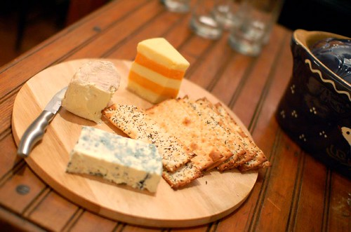 Meant To Be Dinner: Cheese Board