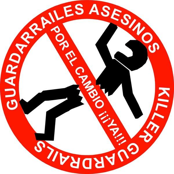 Logo Guardarraíles Asesinos