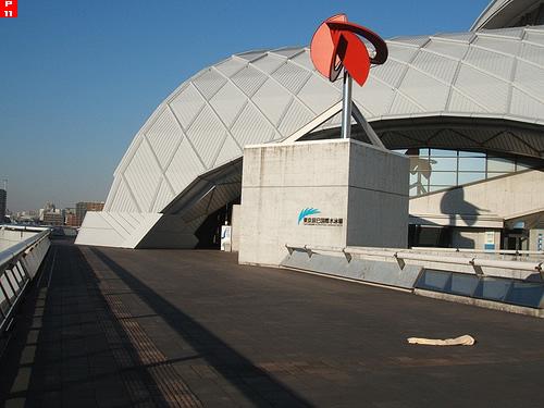東京辰巳国際水泳場入り口1